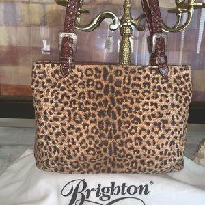 Brighton animal print bag
